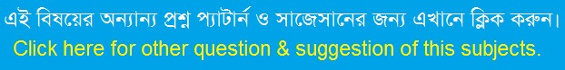 Bengali 2nd Paper Suggestion and Question Patterns of JSC Examination 2017-4