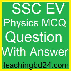 SSC EV Physics MCQ Question Ans. Motion